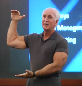 Speaker Bill  Morris The Corporate Wellness Expert helping employees
