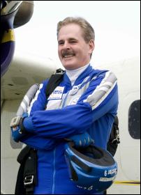 Speaker Jim  McCormick Skydiving and business motivational speaker